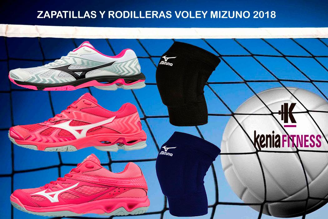 rodilleras voleibol mizuno blancas 2018